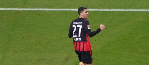 Aymen Barkok hat bei Eintracht Frankfurt überrascht.