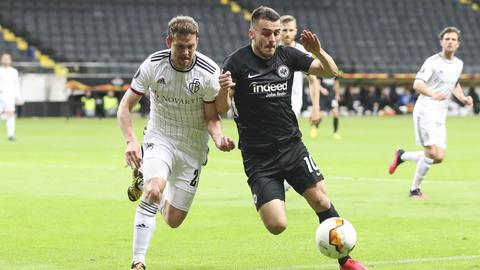 Filip Kostic im Hinspiel gegen den FC Basel