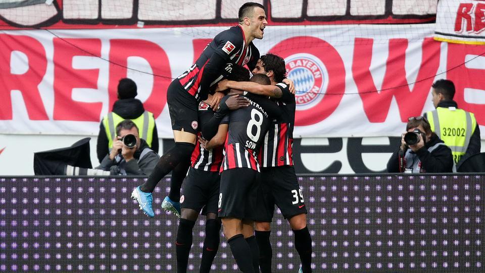 Eintracht Frankfurt Demutigt Den Fc Bayern Munchen