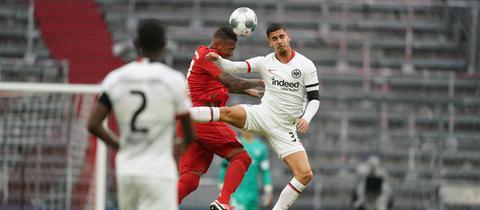 Andre Silva und die Eintrachtkollegen sind zumeist nur zweiter Sieger.