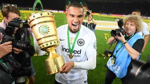 Eintracht-Spieler Kevin-Prince Boateng