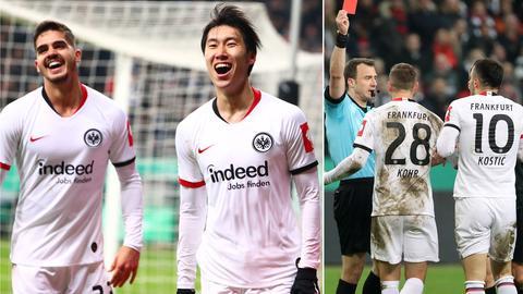 Eintracht Frankfurt Collage Werder Bremen