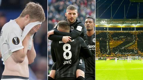 Eintracht Collage Rückblick Teil eins - NEU