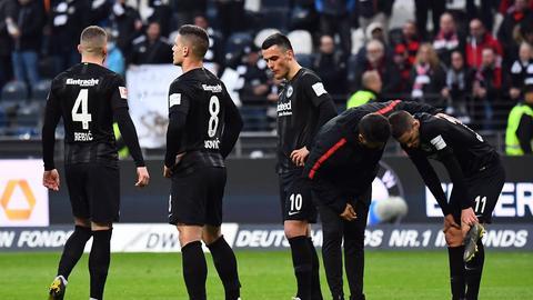 Eintracht Enttäuschung