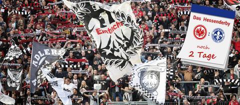 Fans der Frankfurter Eintracht