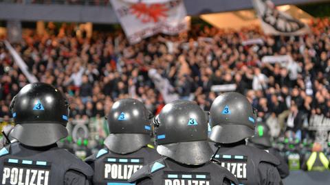 Eintracht Fans Polizei