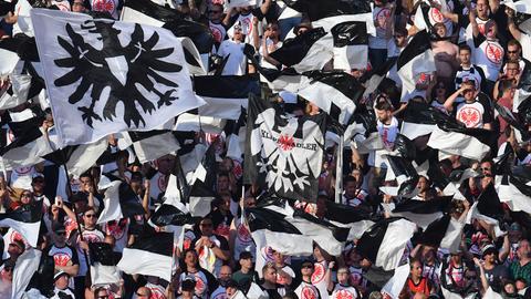Eintracht-Fans im Olympiastadion