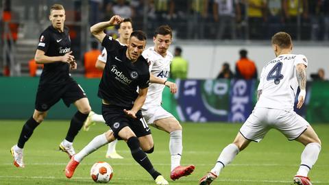 Filip Kostic von Eintracht Frankfurt im Spiel gegen Fenerbahce