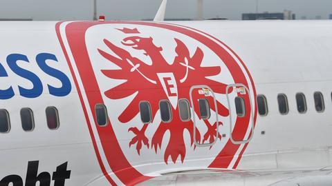 Eintracht Flugzeug