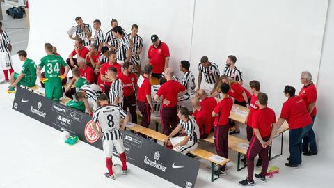 Eintracht Fototermin