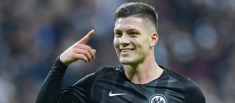 Eintracht-Spieler Luka Jovic