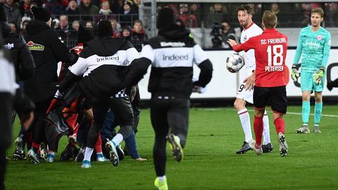 Eintracht Frankfurt gegen SC Freiburg David Abraham