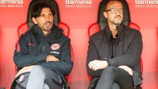 Auf Eintracht-Sportvorstand Fredi Bobic und Sportdirektor Bruno Hübner wartet ein zäher Transfer-Sommer.