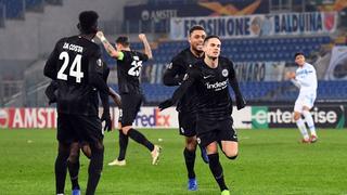 Die Frankfurter Eintracht will auch gegen Bayer 04 Leverkusen wieder jubeln.