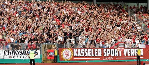 Kein Benefizspiel: KSV Hessen Kassel gegen Eintracht Frankfurt findet nicht statt.