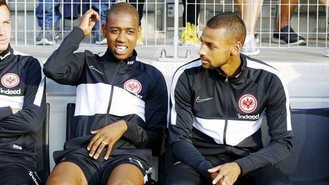 Gelson Fernandes (li.) hat beim Transfer von Djibril Sow entscheidend eingewirkt.