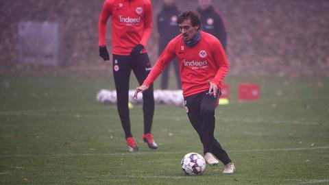 """Francisco """"Chico"""" Geraldes will am Erfolg der Eintracht-Mannschaft teilhaben."""