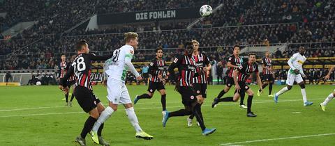 Eintracht verliert in Mönchengladbach