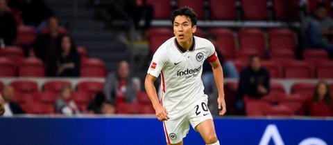 Makoto Hasebe geht in seine siebte Saison bei Eintracht Frankfurt.