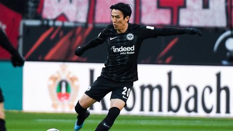 Eintracht-Libero Makoto Hasebe zeigte auch gegen den SC Freiburg wieder seine Klasse.
