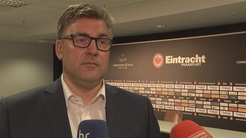 Eintracht-Vorstand Axel Hellmann