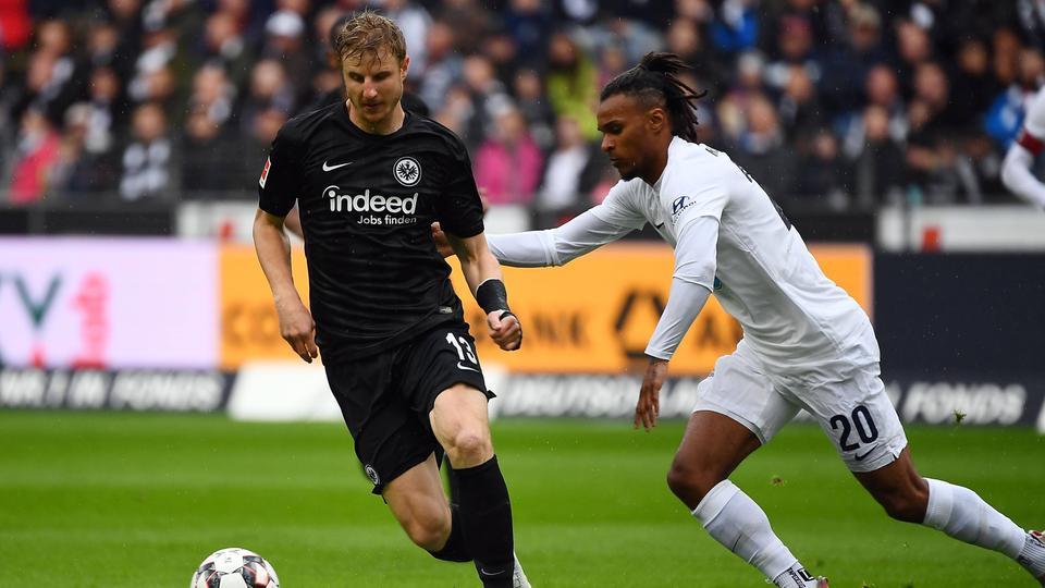 Martin Hinteregger im Spiel gegen Hertha BSC