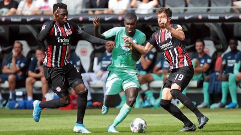 Eintracht Frankfurt gegen Hoffenheim