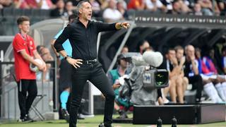 Eintracht-Trainer Adi Hütter hat eine Vorliebe für Offensiv-Fußball.