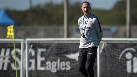 Eintracht-Trainer Adi Hütter steht vor einer spannenden Rückrunde.