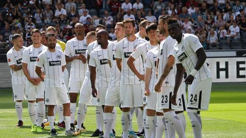 Die Mannschaft von Eintracht Frankfurt