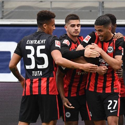 Eintracht Frankfurt Jubel