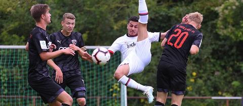 Abdulkerim Cakar von der A-Jugend von Eintracht Frankfurt