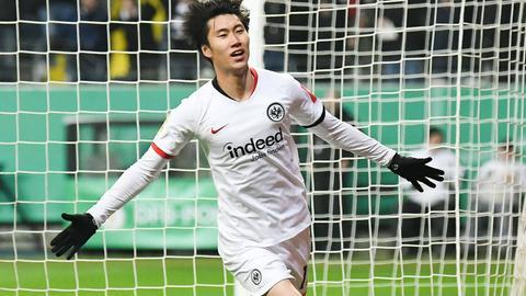 Daichi Kamada hat in dieser Saison schon sechs Vorlagen geliefert.