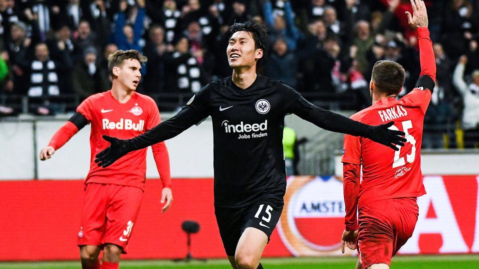 Kamada-Show: Eintracht Frankfurt fertigt RB Salzburg ab