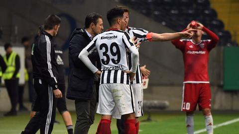 Eintracht-Trainer Niko Kovac muss am Samstag auf seinen Strategen Omar Mascarell verzichten.