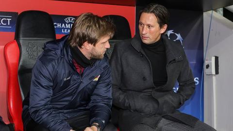 Werden Markus Krösche und Roger Schmidt die neuen Führungspersonen bei der Eintracht?
