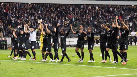 Die Eintracht peilt den dritten Sieg im dritten Europa-League-Gruppenspiel an.