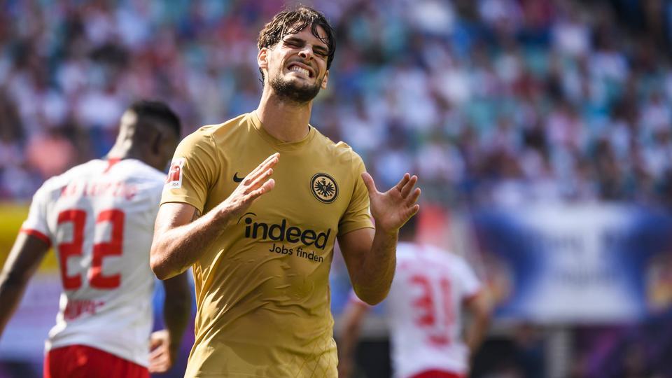 Goncalo Paciencia bei Eintracht Frankfurt - RB Leipzig