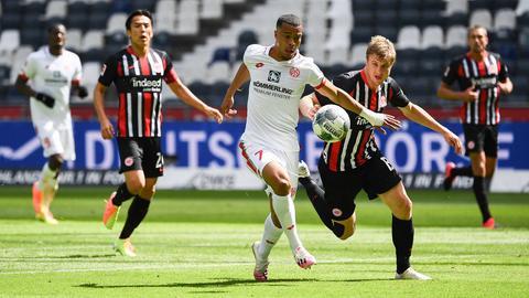 Eintracht Frankfurt findet gegen Mainz keine Lösungen