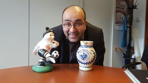 Eintracht-Edelfan Omid Nouripour