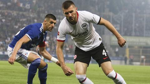 Ante Rebic stand in der Kritik nach dem Auftritt gegen Straßburg.