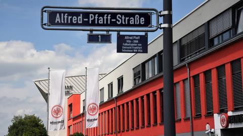 Es ging nicht alles ganz sauber zu beim Eintracht Frankfurt e.V.