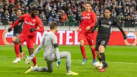 Eintracht Frankfurt RB Salzburg
