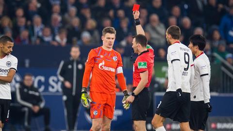 Eintracht Schalke Nübel Gacinovic