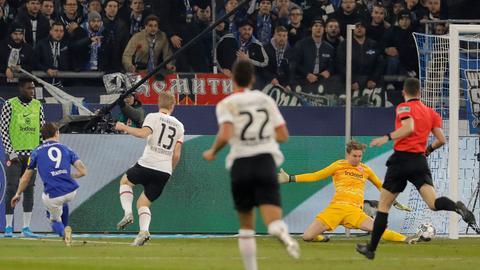Szene Schalke Eintracht