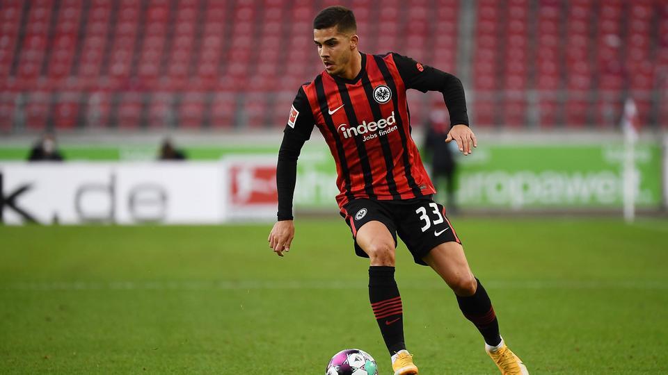 André Silva ist bei der Eintracht wieder an Bord.