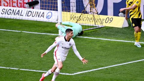 Der Abgang von André Silva hat bei der Eintracht eine Lücke im Sturm gerissen.