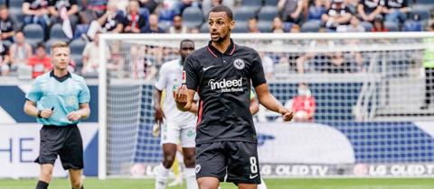 Eintracht-Mittelfeldmann Djibril Sow will den nächsten Schritt gehen.