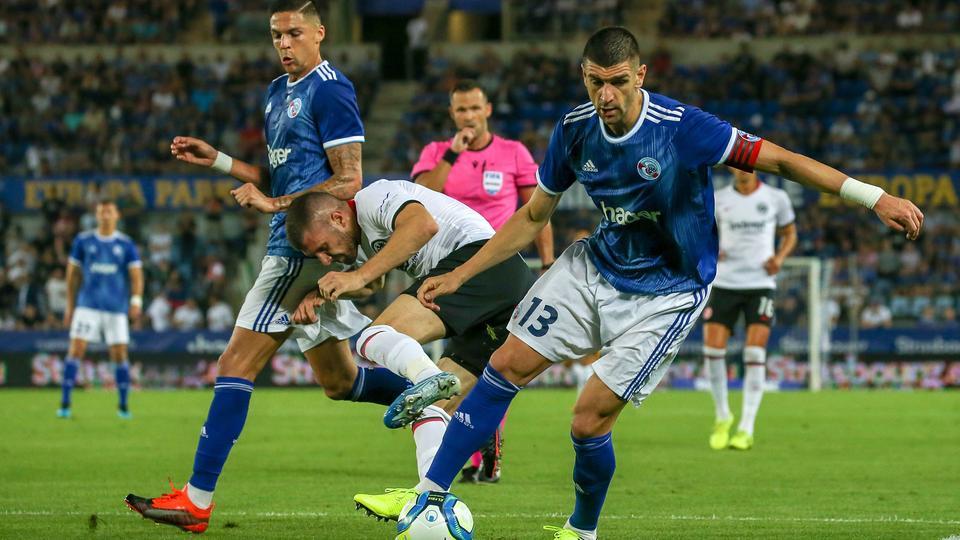 Ante Rebic von Eintracht Frankfurt im Spiel gegen Straßburg