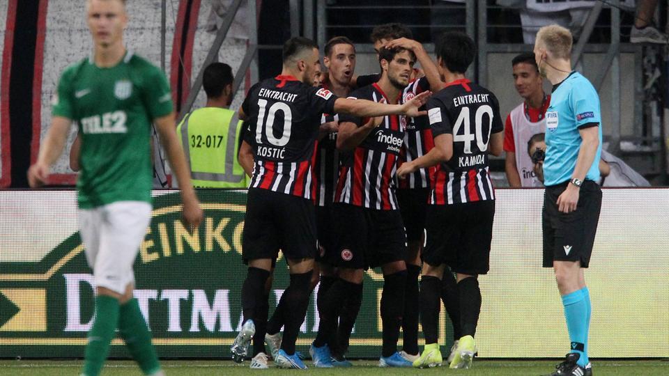 Eintracht Frankfurt ohne große Mühe eine Runde weiter